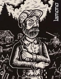 Lumberjack design by Timber! Tattoo Sketches, Tattoo Drawings, Art Drawings, Party Set, Survival, Zine, Cover Art, Printmaking, Art Photography