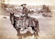 Cowboy do Velho Oeste e sua montaria.            *****Murilo Vidal.