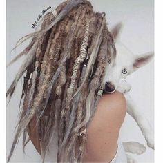 Yo, girl with the dreads What were you thinking in your head Why sir, my head is my own And I have grown these lovely locks As they are a symbol of my ancestors downtrodden loss ❤️🌻✌🏽 Dreadlock Beads, Dreadlock Styles, Dreads Styles, Blonde Dreadlocks, Short Dreads, Wool Dreads, Dreadlock Hairstyles, Messy Hairstyles, Bohemian Hairstyles