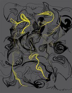 #illustration #yellow #gray #black #line #draw #graphicdesign