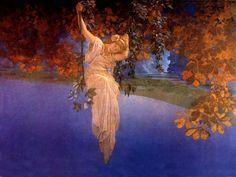 Maxfield Parrish, Reveries (1913)