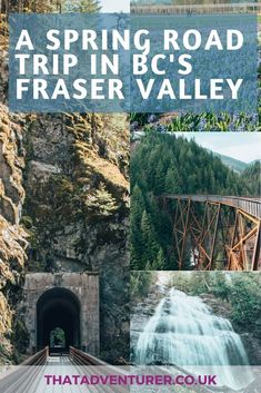 A Springtime Fraser Valley Road Trip from Vancouver British Columbia, Columbia Travel, Road Trip Hacks, Road Trips, Cool Places To Visit, Places To Go, Canada Destinations, Fraser Valley, Valley Road