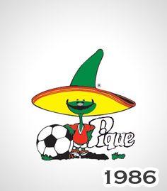 Pique 1986 mascota del Mundial