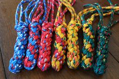 Squid Rope Dog Toy Durable for aggressive by IndustrialBuilds