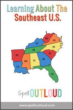 24 Best 4th grade Southeast Region images | 4th grade social studies ...