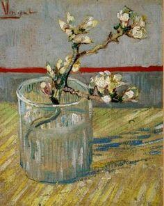Branche d'Amandier dans un vase