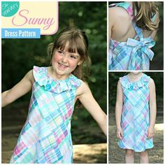 FREE sewVery Sunny Dress Sizes 5,6,7 | Craftsy