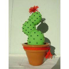 Cactus De Fieltro- Regalo- Fiestas- Souvenir- $ 45.0 - Estación Decó
