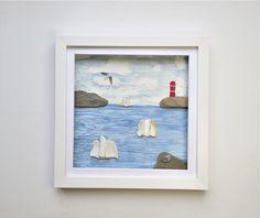 Box Frames, Frames On Wall, Framed Wall Art, Coastal Wall Decor, Nautical Wall Art, Charlestown Cornwall, Full Sail, Tall Ships, Wall Art Pictures