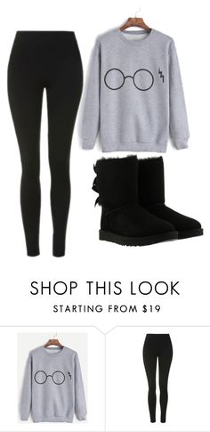"""Untitled #438"" by cuteskyiscute on Polyvore featuring Topshop and UGG"