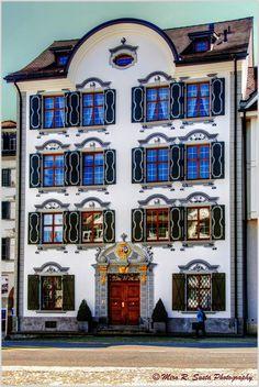 Appenzeller House, Herisau, Switzerland