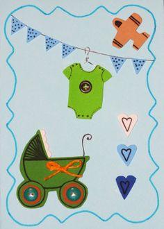 képeslap baba érkezésre