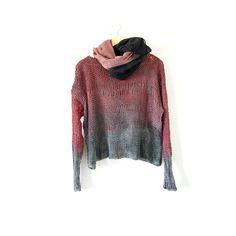 Tye Dye Cotton Sweater. by munamiu on Etsy, $46.00
