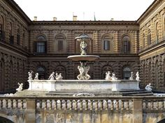 Fontana del Carciofo by Francesco Susini, Palazzo Pitti, Florence