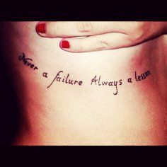 Hot Quote tattoos for girls from Quote Tattoos - Discover unique  inspiring stuffs you'll love