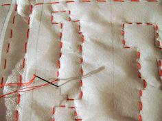 DIY - Portland Map Embroidered Quilt Kit