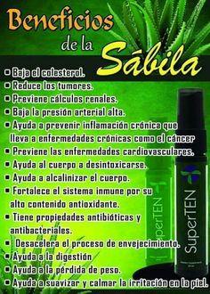 Beneficios de la Sabila, SuperTEN