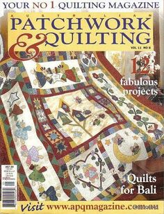 Importada PATCHWORK & QUILTING n. 11 - maria cristina Coelho - Picasa Web Albums... FREE BOOK, PATTERNS AND INSTRUCTIONS!