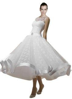 cool *Maillsa Lace Bateau Wedding Dress White/ivory C0087  #*Maillsa #Bateau #C0087 #Dress #Lace #Wedding #White/Ivory