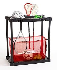 Ideas To Storage Sports Equipment. See More. Rubbermaid Sports Station