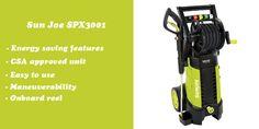 Sun Joe SPX3001 electric pressure washer review