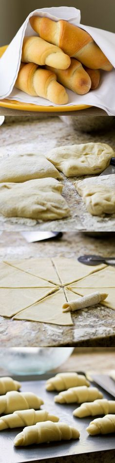 My Grandma's Homemade Crescent Rolls are legendary. Pillowy soft with a sweet, buttery taste, you'll be spoiled from store-bought crescent rolls forever. Pinned over 8,000 times!
