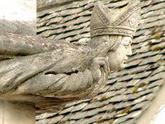 A bishop as gargoyle...