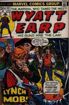 Wyatt Earp #32 cover by Gil Kane