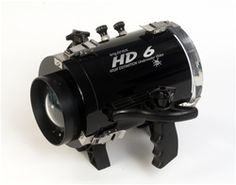 Equinox HD6 housing fits hundreds of camcorder models.  Additional LCD screen available. Only $899