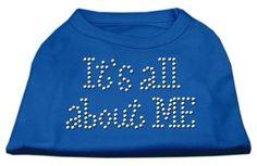 It's All About Me Rhinestone Shirts Blue XXXL (20)