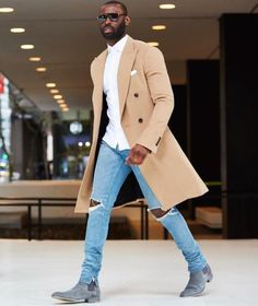 Now boarding - Tap the link to shop on our official online store! You can also join our affiliate and/or rewards programs for FREE - Men's Style & Fashion Most Popular Black Men Style The black men fashion is evergreen and the black men just love to wear Fashion Mode, Look Fashion, Winter Fashion, Black Men Fall Fashion, Fashion Boots, Fashion Rings, Fashion Vest, Fashion Check, Travel Fashion