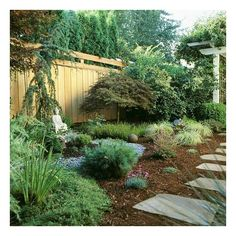 Front-Yard Landscaping Ideas ❤ liked on Polyvore