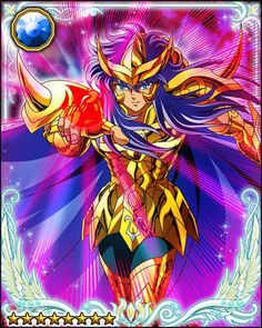 Milo de Escorpião - Saint Seiya Card Battle #CDZ