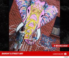 Baron Batch - former Steeler & well known artist creating thought provoking artwork all over our city in public spaces or on public buildings. Pittsburgh Art, Public Spaces, Baron, Banksy, Thought Provoking, Graffiti, Police, Street Art, Buildings