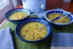 Farm Fresh Feasts: Easy Celery Rice Soup (with Slow Cooker option)