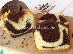 Plumcake marmorizzato soffice | Kikakitchen