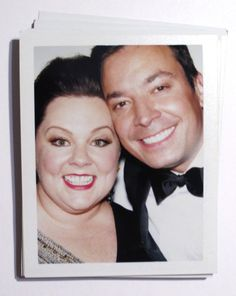 Melissa McCarthy and Jimmy Fallon