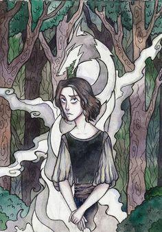 Wolf's child by LadySiryna on DeviantArt