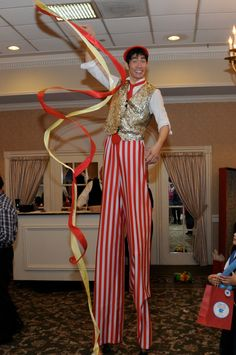 Circus birthday party entertainment