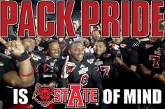 Arkansas State University - Pack Pride is stAte of Mind.