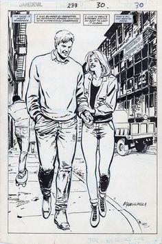 Daredevil #233 page 30 by David Mazzucchelli