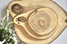 Plaster drewna - taca, podkładka mała - OLDTREE - Podkładki i serwetki