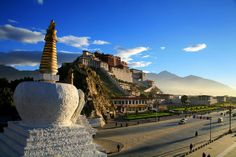 Potala Palace, Lhasa, Tibet Autonomous Region, China.