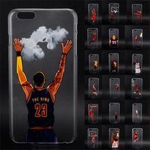 NBA star basketball player telefon fall für iphone 5 5 s 6 6 s 7 plus Jordan 23 james harden curry harte PC back cover coque fundas(China (Mainland))
