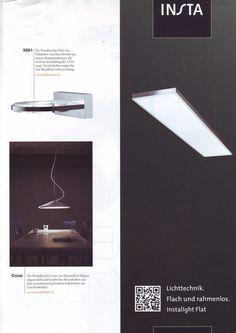 "Cone lamp by Luc Ramael  seen on ""High Light"" magazine"