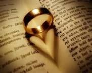 Wedding band/heart shadow