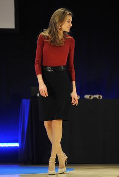 Queen Letizia of Spain Photos - Princess Letizia of Spain 'Volunteering National Congress' in Bilbao - Zimbio