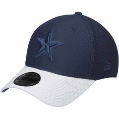 Men s Dallas Cowboys New Era Navy White Tone Tech Redux 2 39THIRTY Flex Hat 9ecb6db59