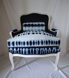 Tie Dye Chair by RecoveryAct on Etsy, $425.00