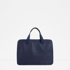 ZARA - MAN - BLUE BRIEFCASE